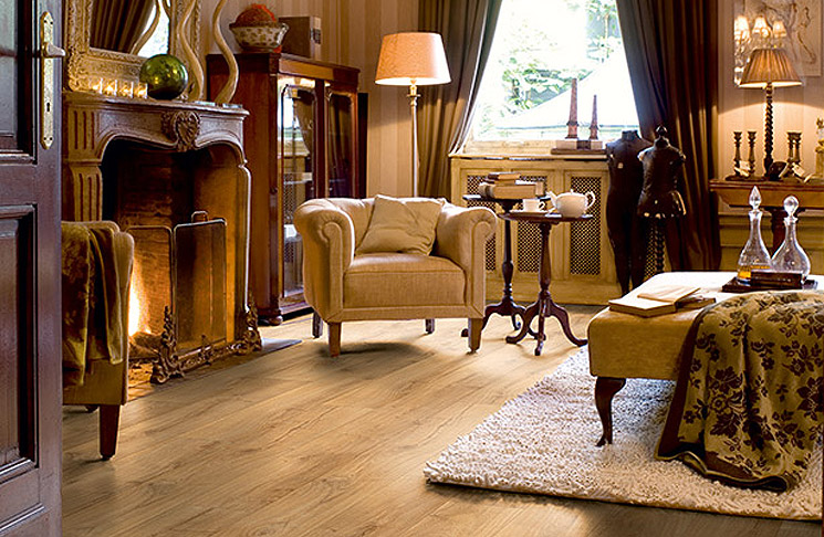 Quick Step Cambridge Oak from Gardner Floor Covering, Eugene, Oregon