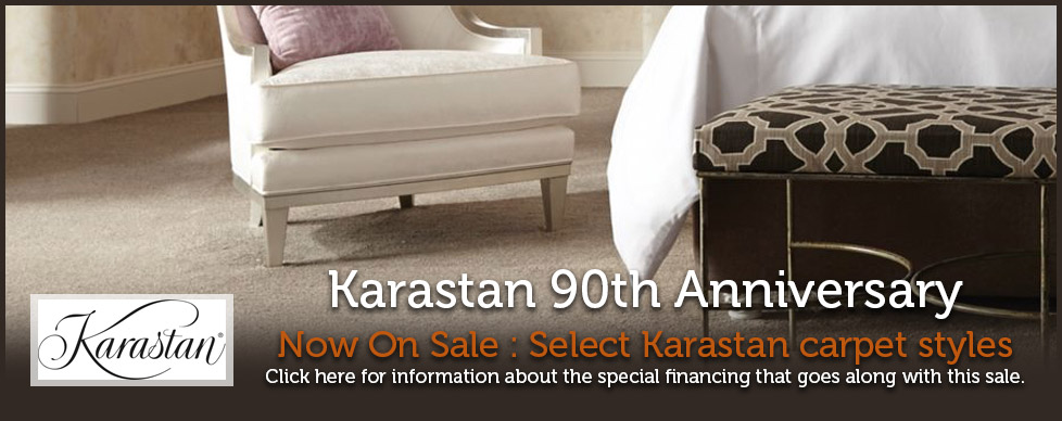 Karastan 90th Anniversary at GARDNER Floor Covering, Eugene, Springfield Oregon