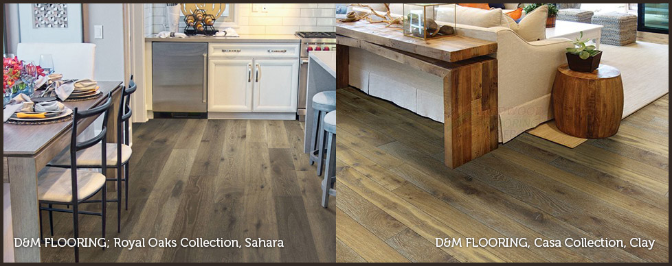 Wood flooring at GARDNER Floor Covering, Eugene, Oregon