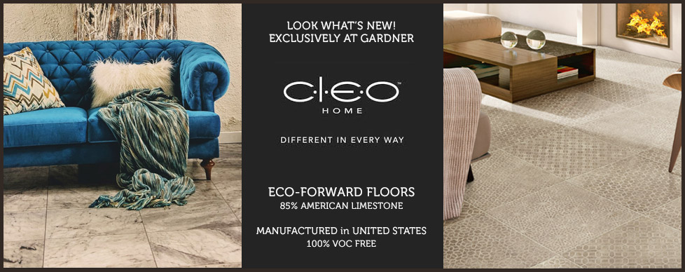 CLEO Home, Eco-Forward Floors at GARDNER Floor Covering, Eugene, Oregon